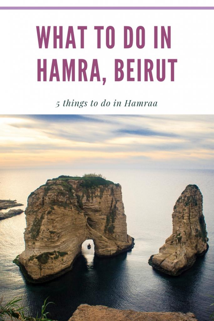 WHAT TO DO IN HAMRA, BEIRUT