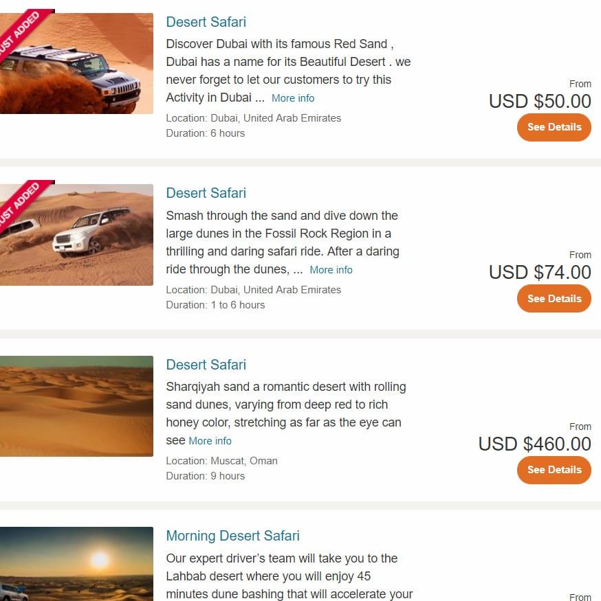 book desert safari online tips tricks blog