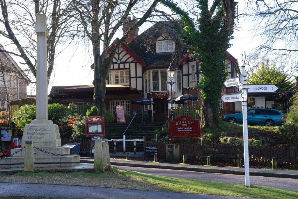 where to stay in burley the burley inn