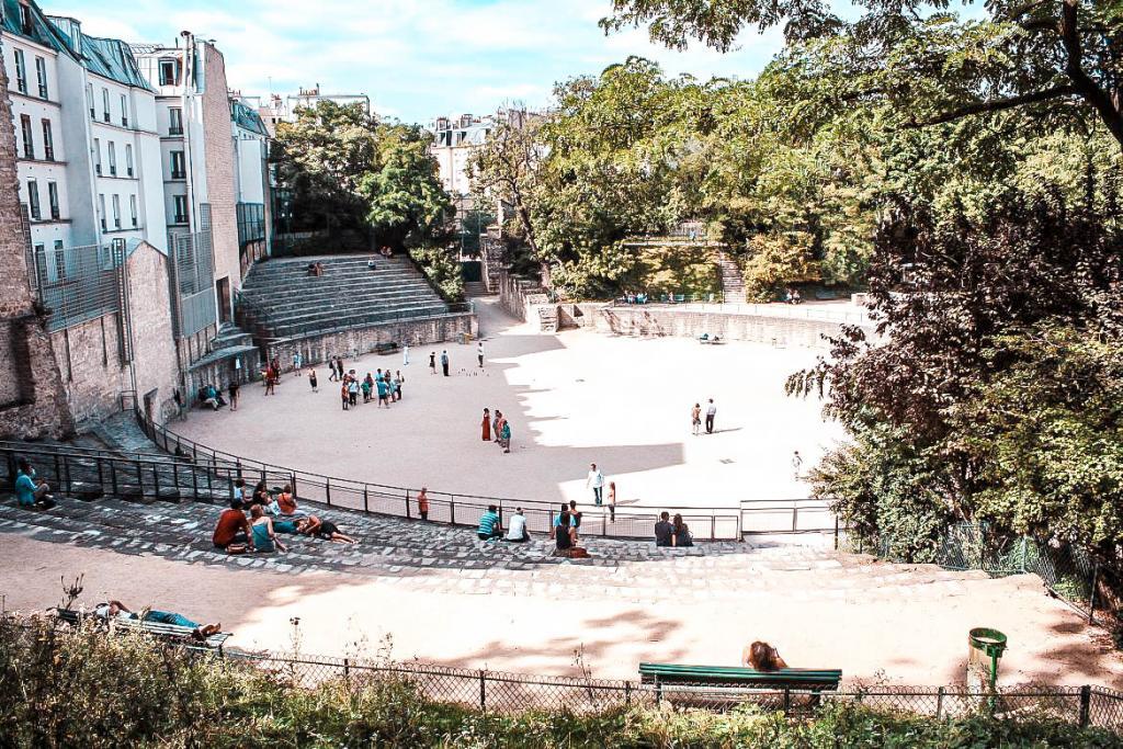 Discover Paris in Roman times amphitheatre