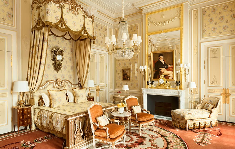 find a room in the ritz paris