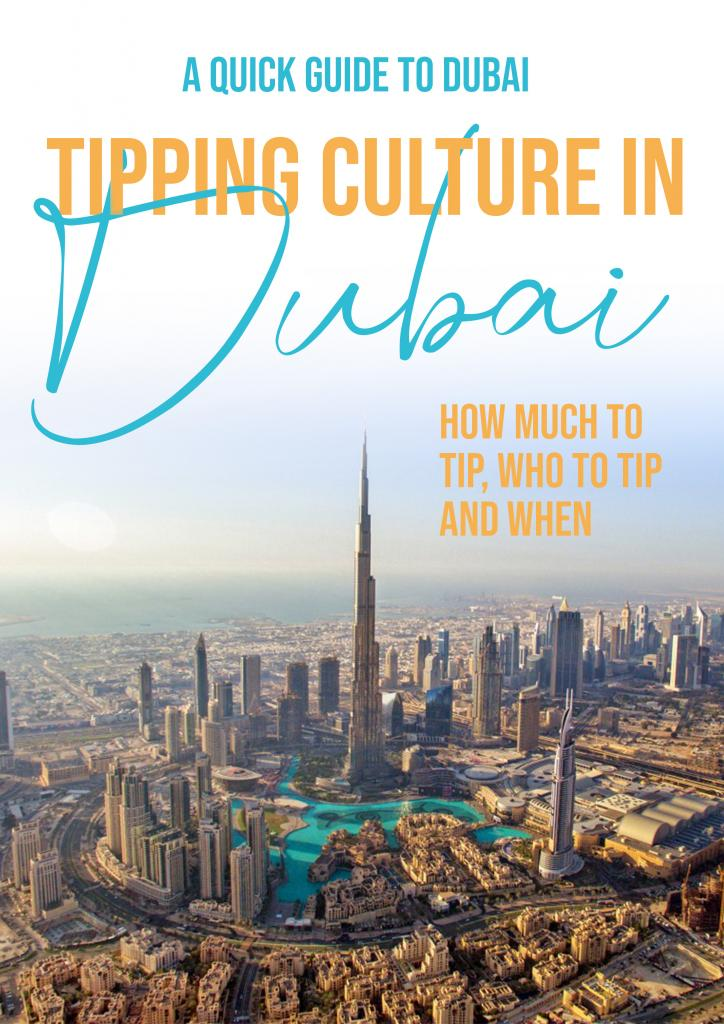 How much to tip in dubai who to tip and when to tip in Dubai