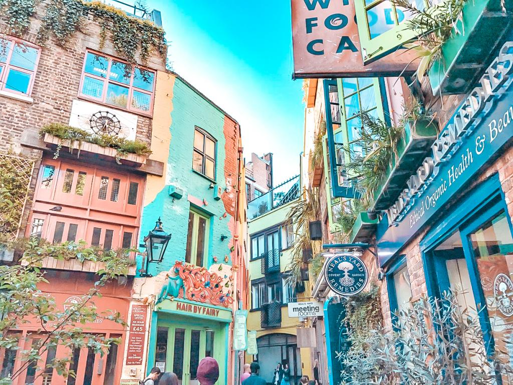 Neals Yard London what to do covent garden london