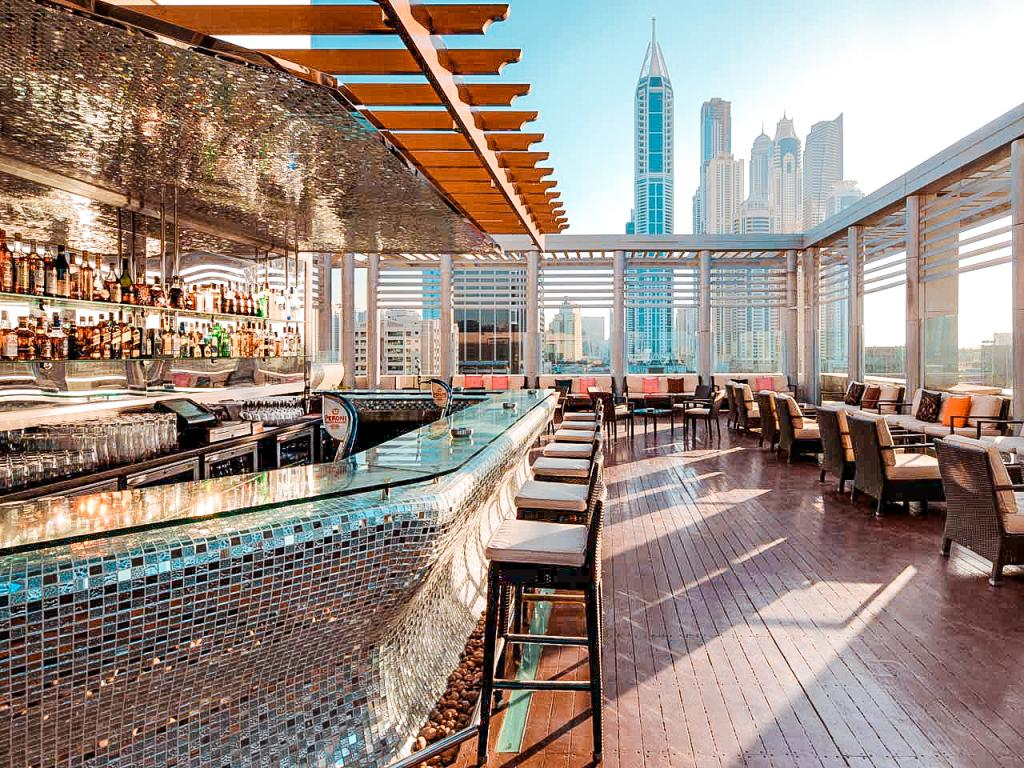 best rooftop bars dubai tamanya terrace
