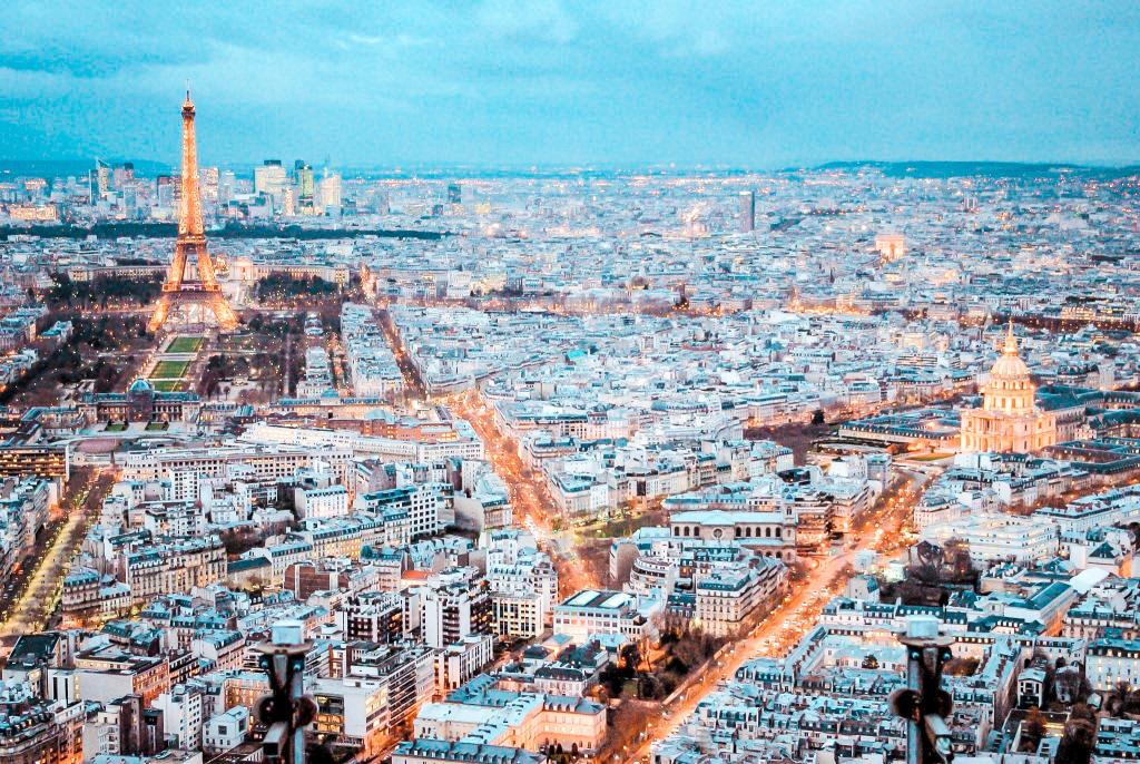 10 best places to watch the sunset in paris Montparnasse Tower view