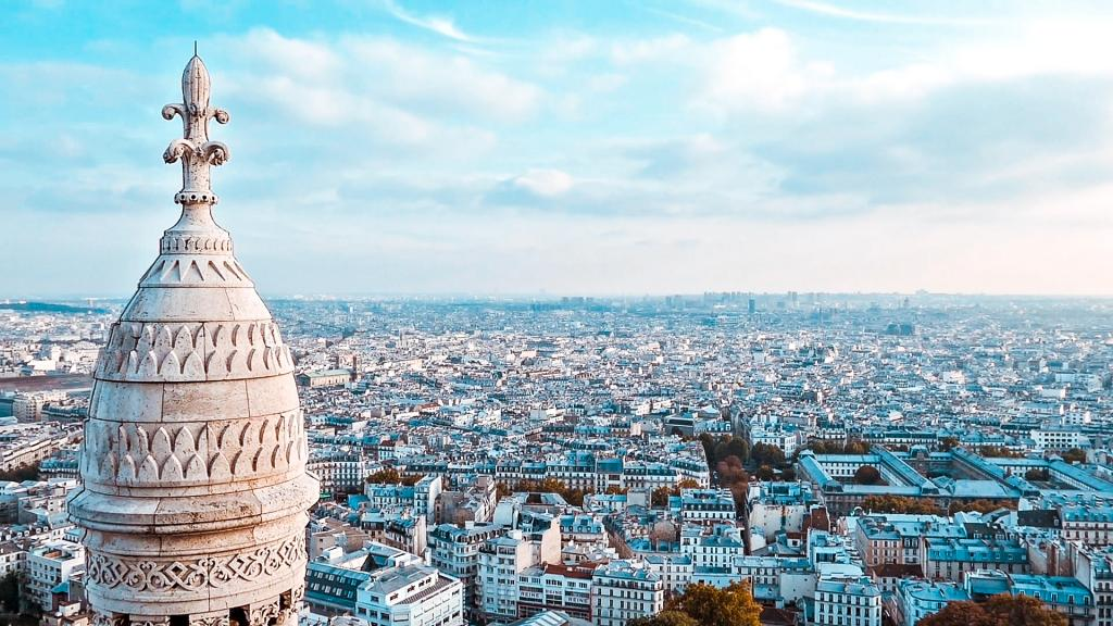 10 best places to watch the sunset in paris Sacré-Cœur