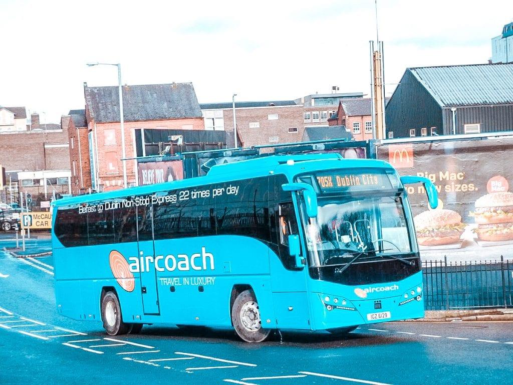 aircoach dublin airport to dublin city centre