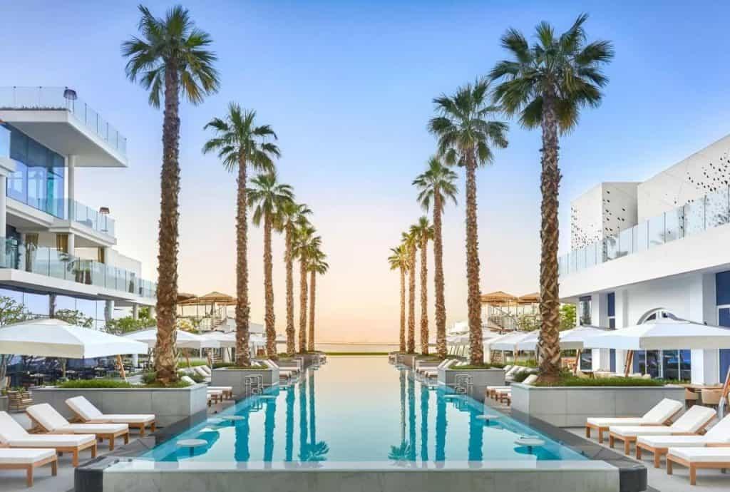 best beach hotels dubai five palm jumeirah