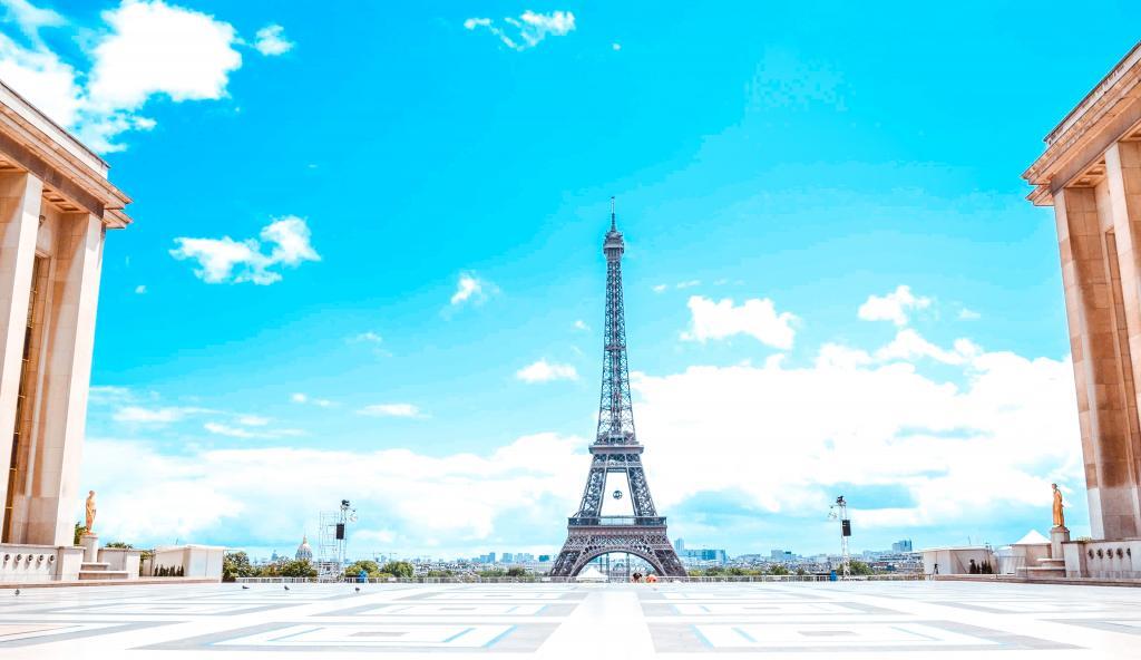 best places picture eiffel tower paris trocadero