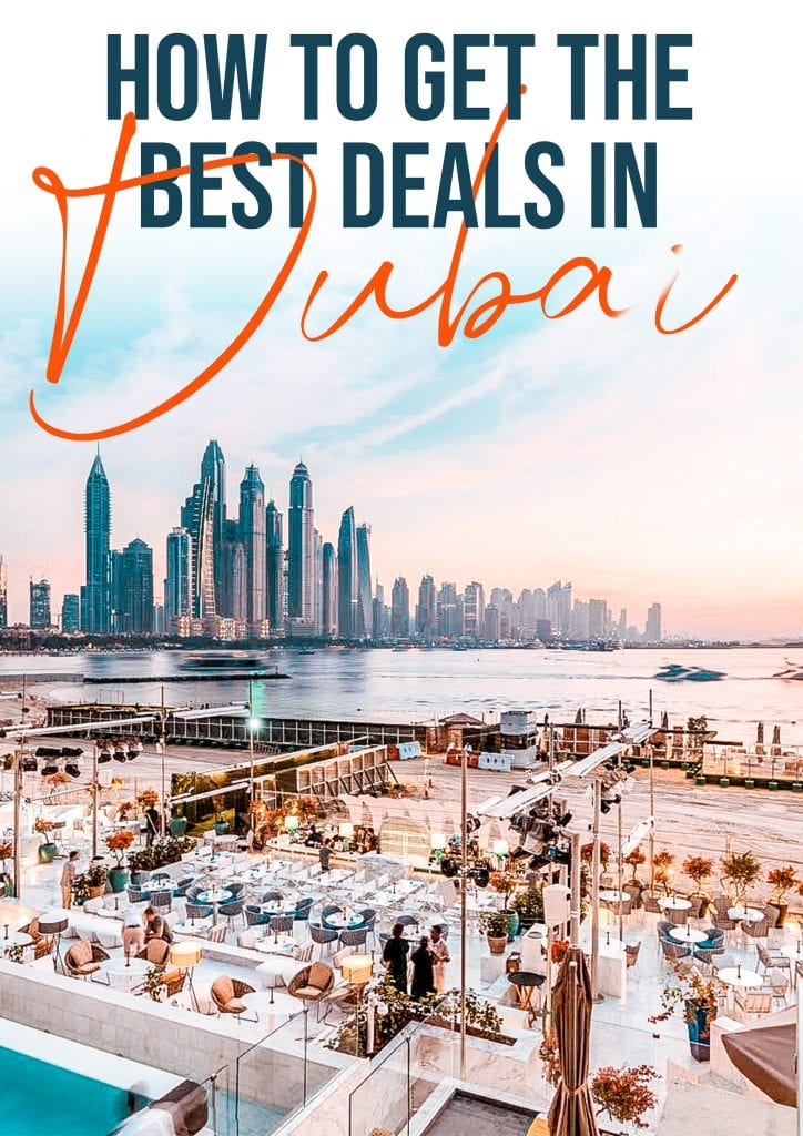 how to get the best deals in dubai
