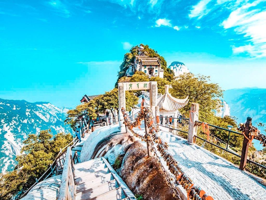 what to do in xian china mount hua