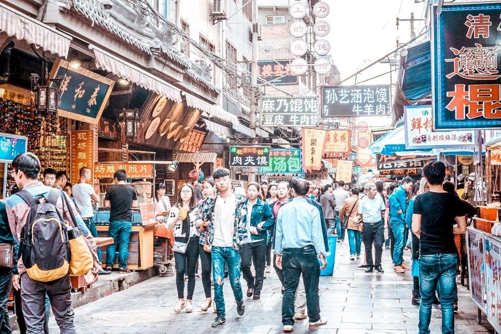 what to do in xian china muslim quarter