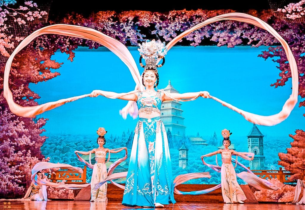 what to do in xian china tang dynasty show