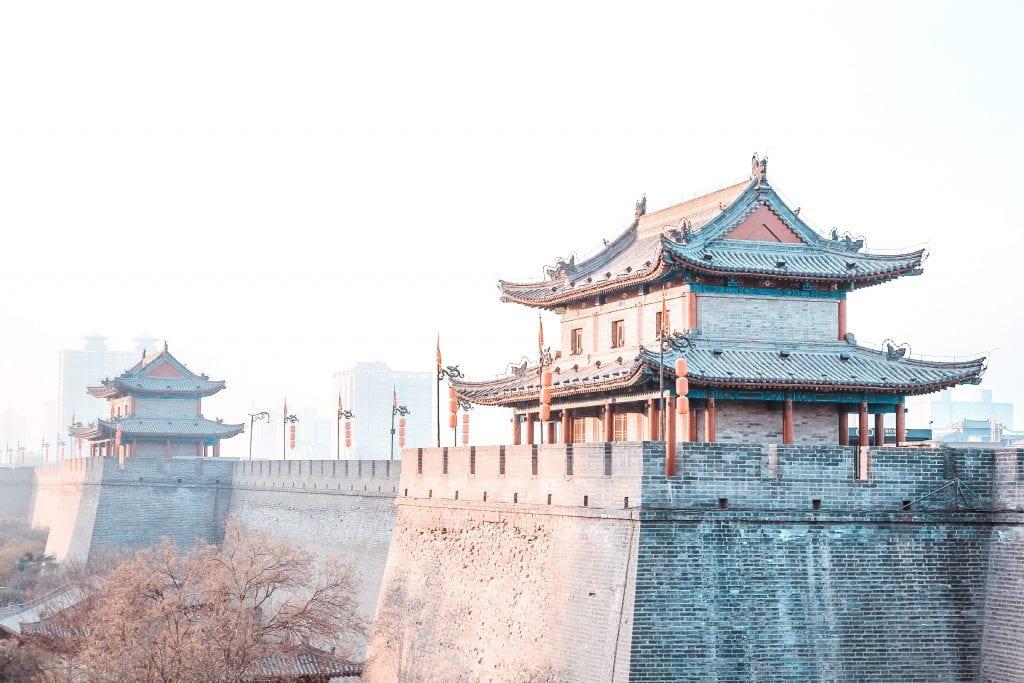 what to do in xian china xian wall bike