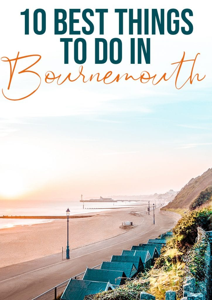10 best things to do in bournemouth