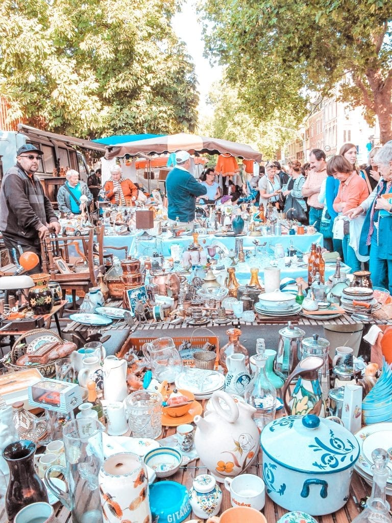 10 free things attractions to do lille La Grande Braderie
