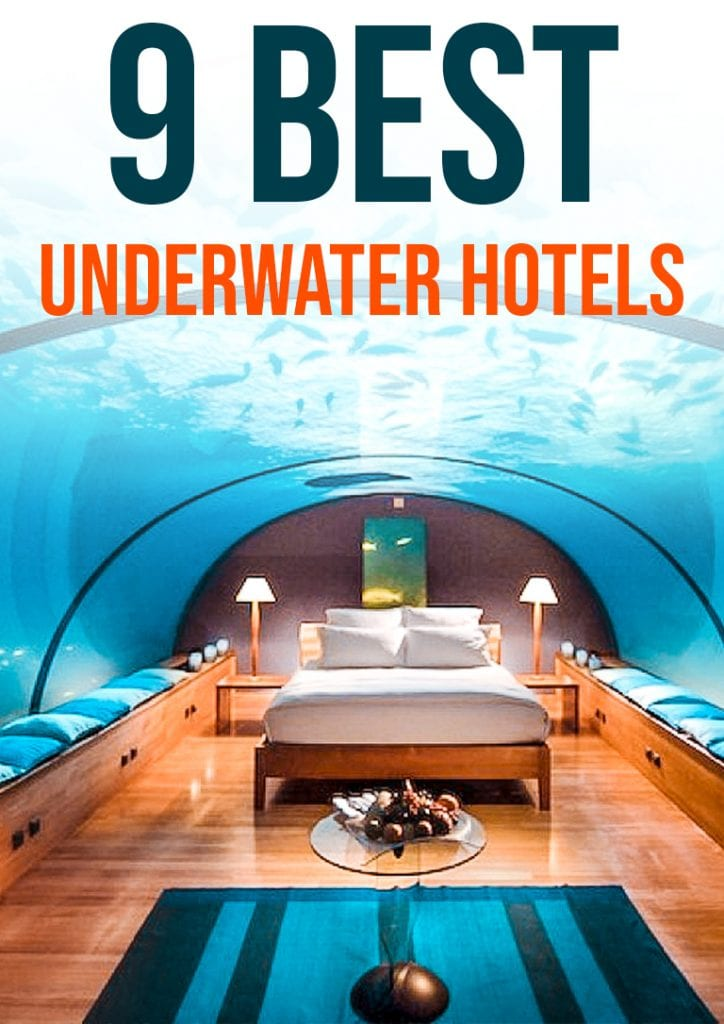 9 best underwater hotels