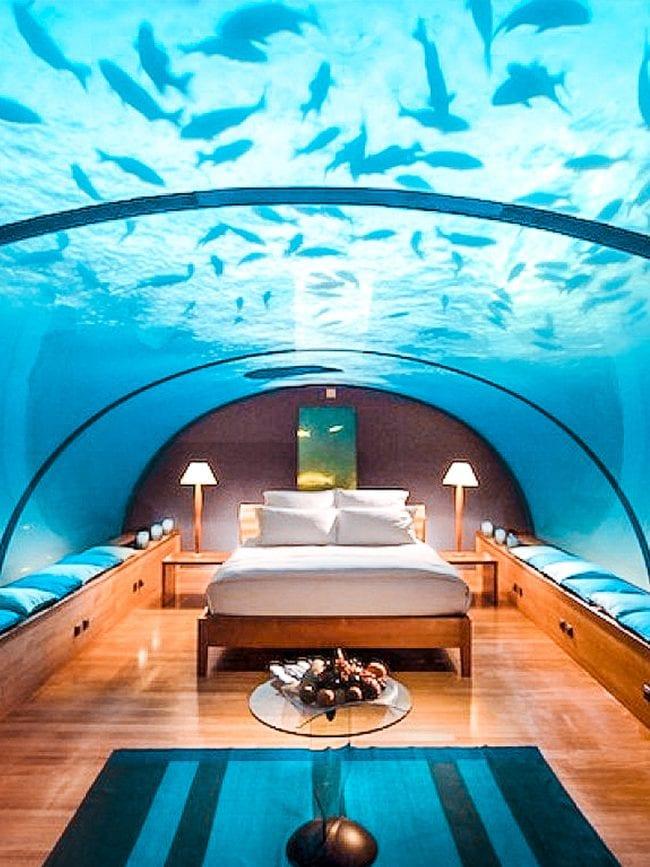 HERO IMAGE best underwater hotels in the world