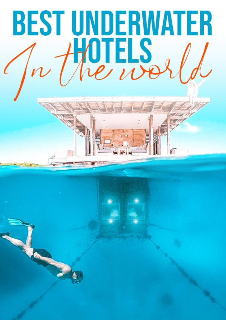 best underwater hotels in the world