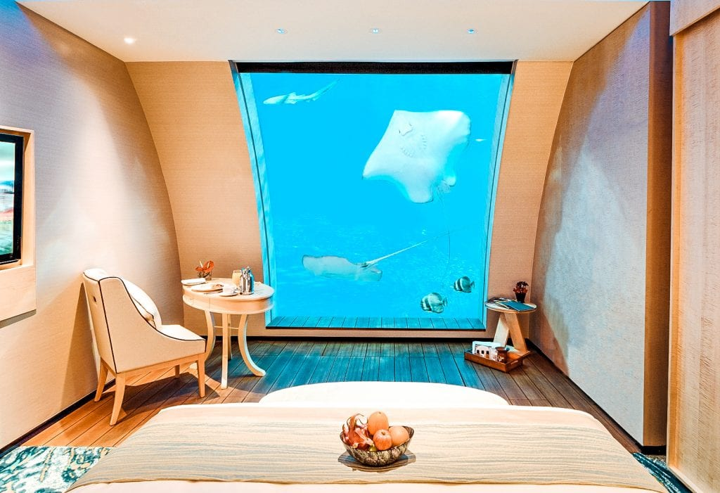 top underwater hotel rooms Resorts World Sentosa in singapore