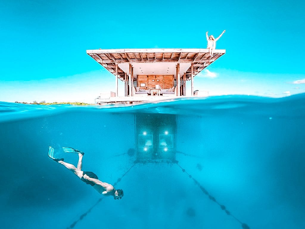 top underwater hotel rooms Zanzibar Manta Resort