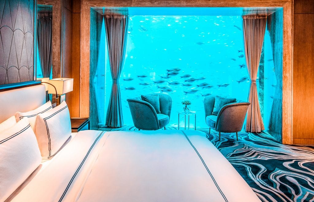 top underwater hotel rooms atlantis dubai the palm