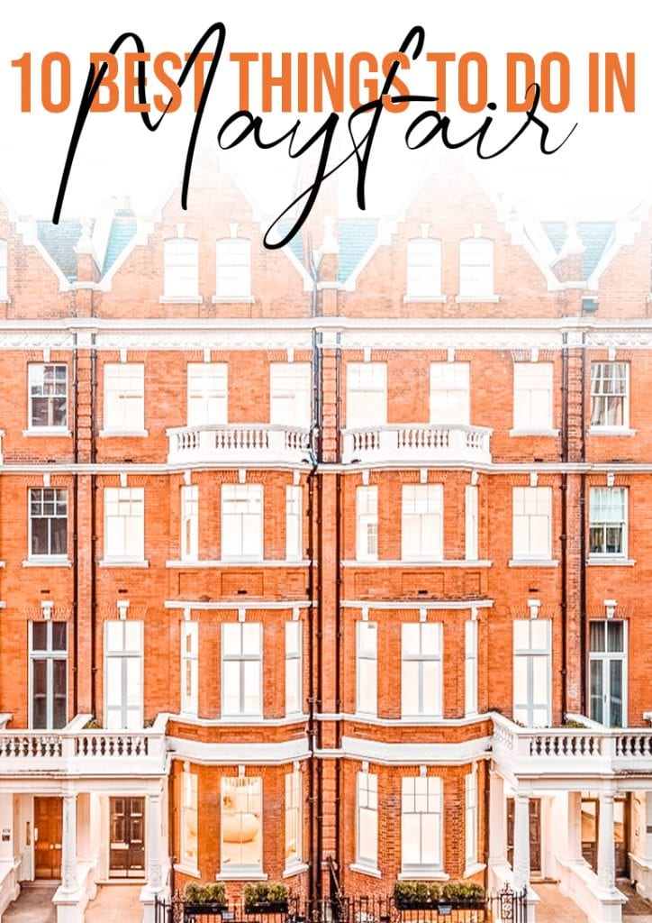 10 best things to do in mayfair