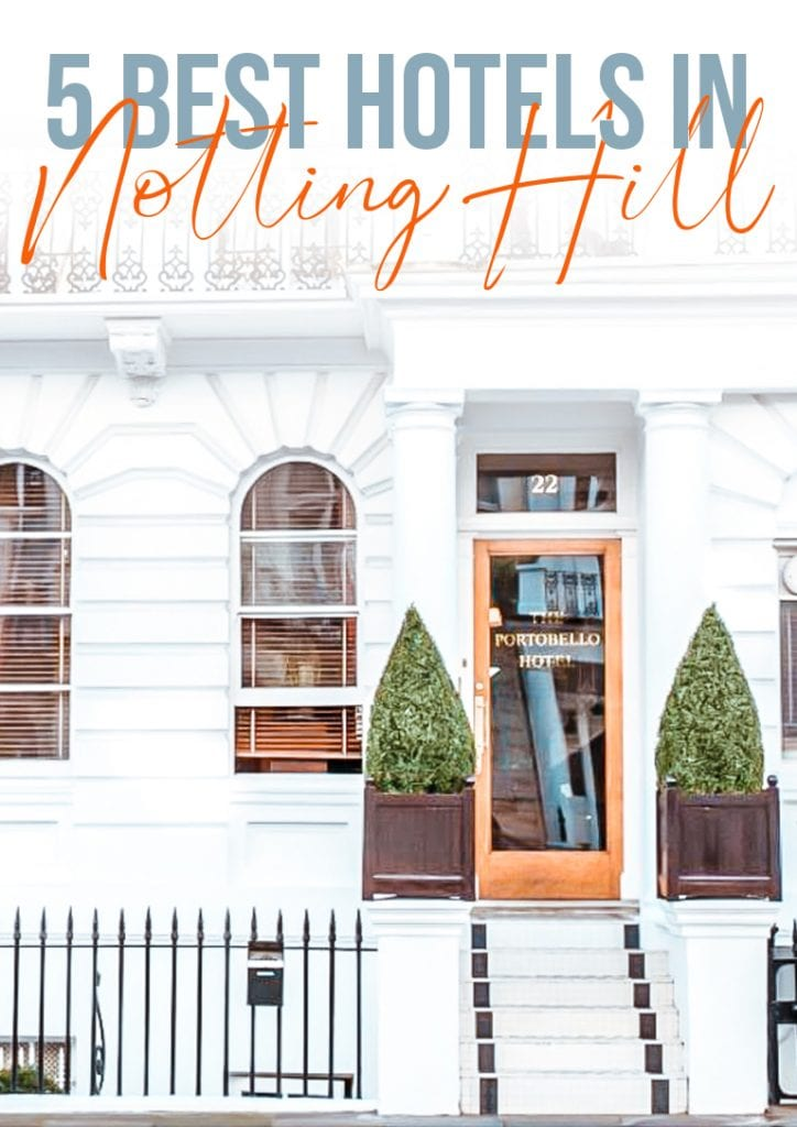 5 best hotels in notting hill