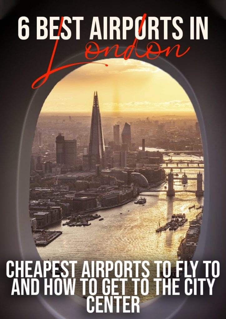 6 best airports london
