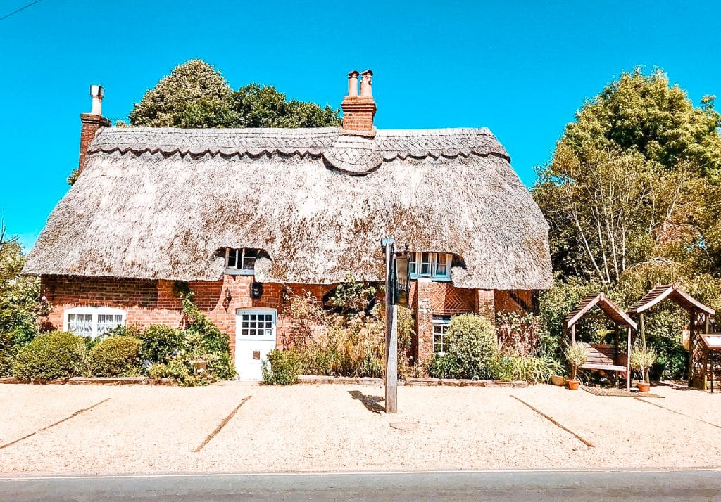 best dog friendly hotels new forest thatched cottage