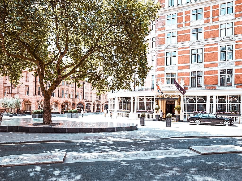 best places to stay hotels accomodation mayfair london The Connaught in Mayfair