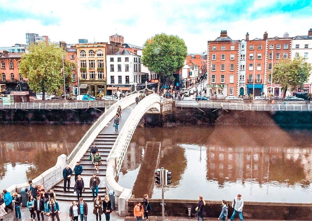 Best free things to do in Dublin ha penny bridge