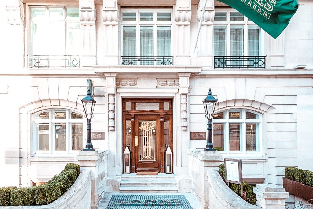 best places to stay hotels accomodation Marriott Hotel Park Lane