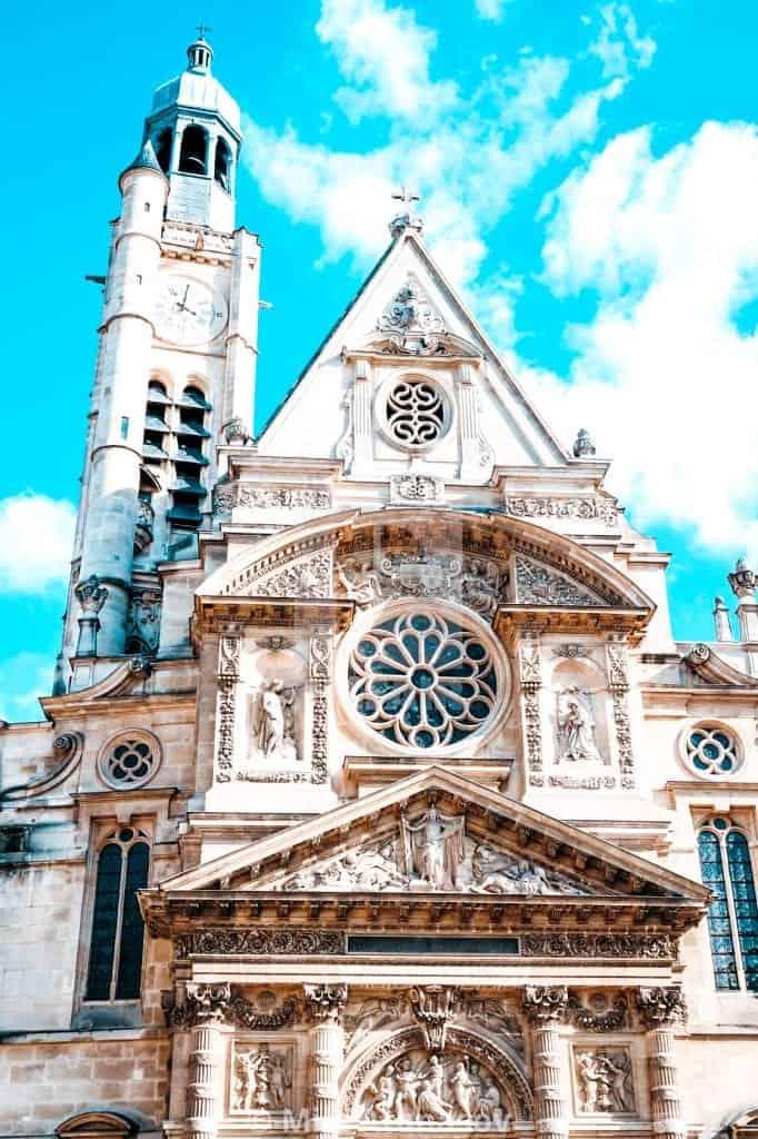 churches paris alternative notre dame saint etienne du mont