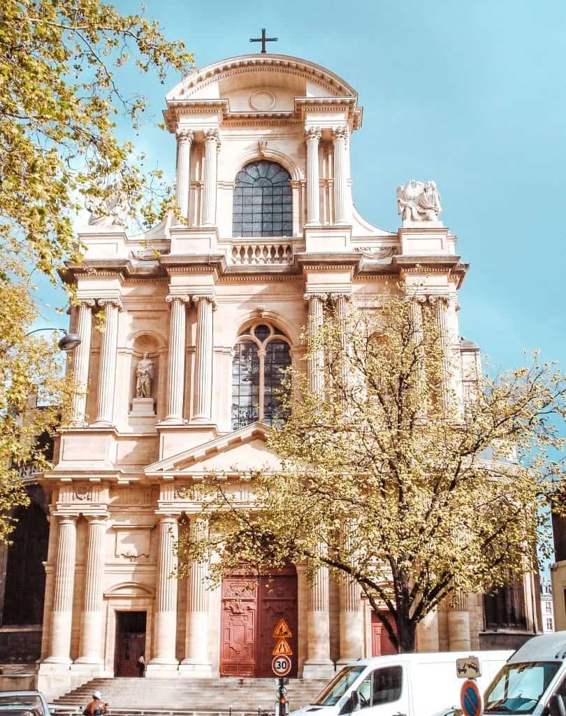 churches paris alternative notre dame st gervais st protais paris