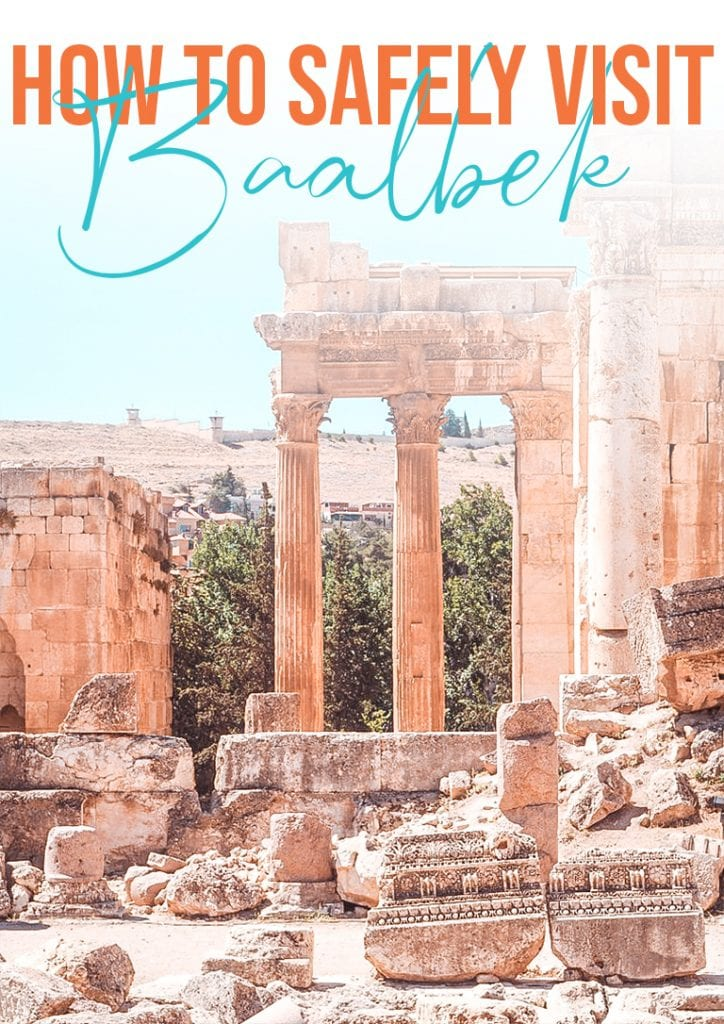 how to safely visit Baalbek