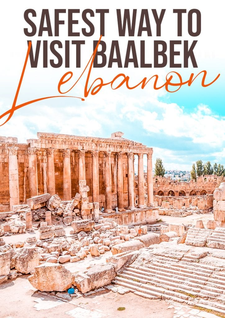 safest way to visit baalbek lebanon