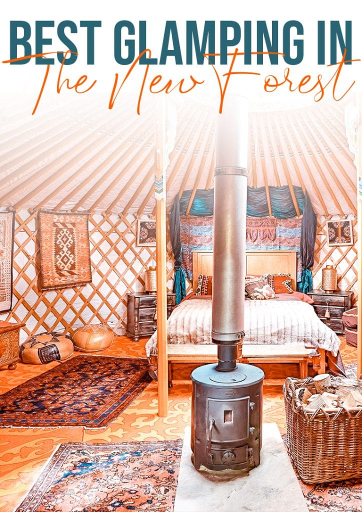 Best glamping in the new forest