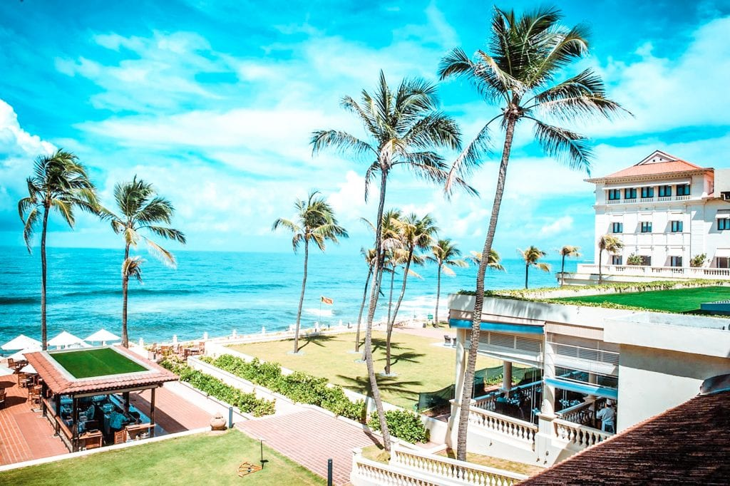 best 5 star hotels colombo galle face hotel