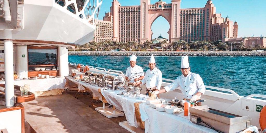 best boat tours dubai yacht luxury with buffet