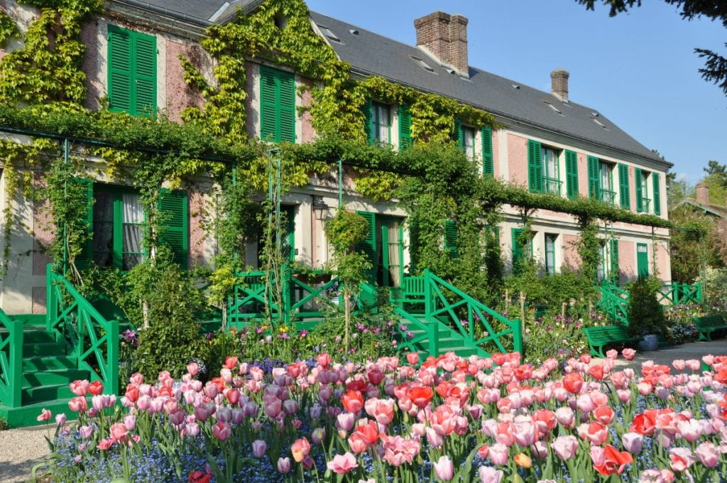 best daytrips from Paris Giverny