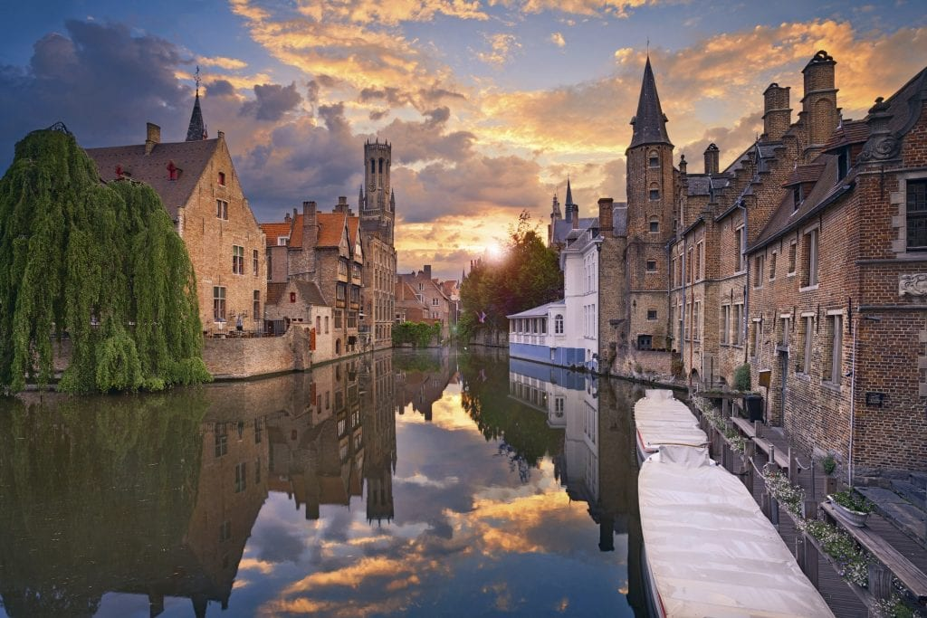 best daytrips from Paris bruges