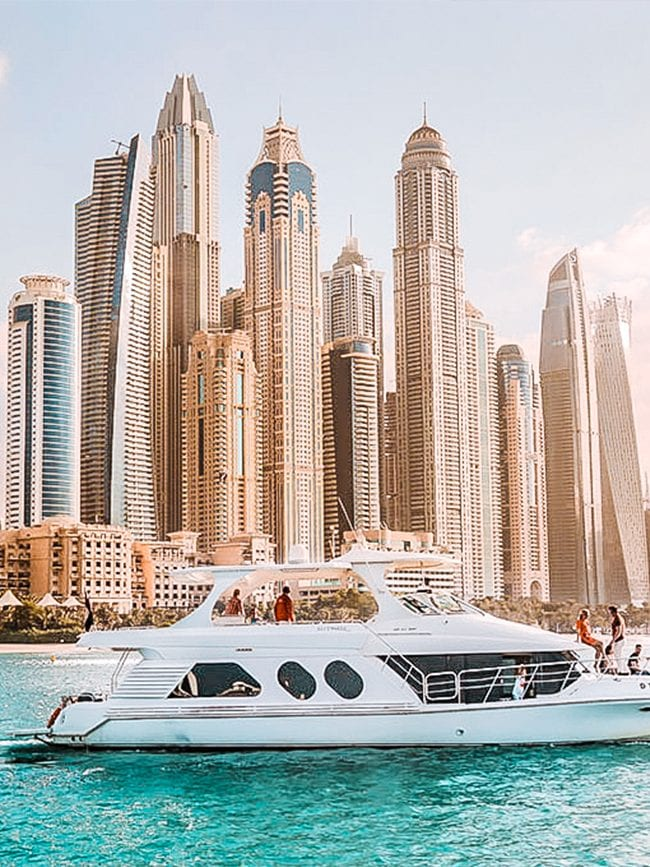 best luxury yacht tours in dubai hero