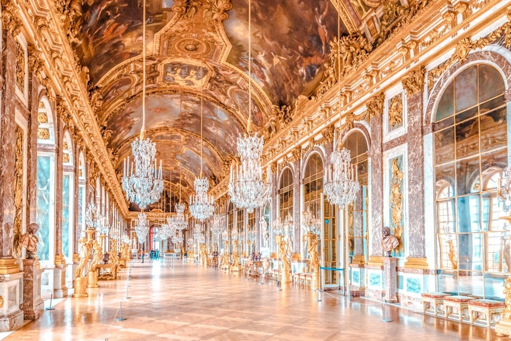 best things to do Versailles hall of mirrors