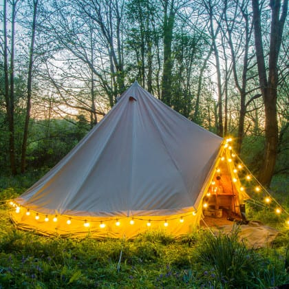 new forest glamping spots rivate Glamping Tent In Heart Of The New Forest 