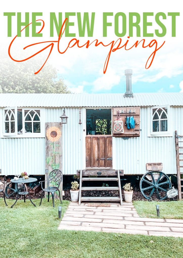 the new forest glamping
