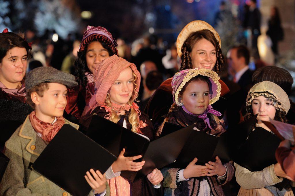 Christmas in London christmas carols