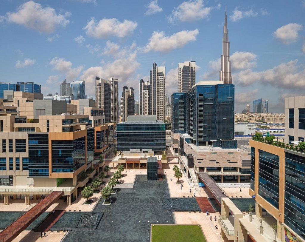 Hotel view Burj Khalifa DoubleTree By Hilton Dubai - Business Bay