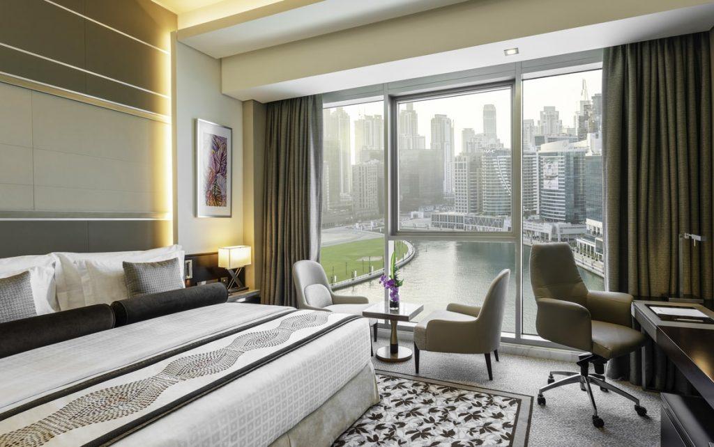 Hotel view Burj Khalifa Grand Millennium Business Bay
