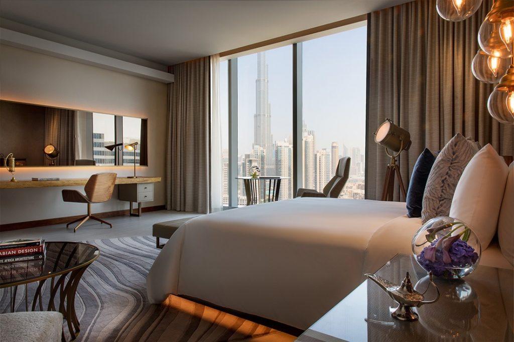 Hotel view Burj Khalifa Renaissance Downtown Hotel, Dubai